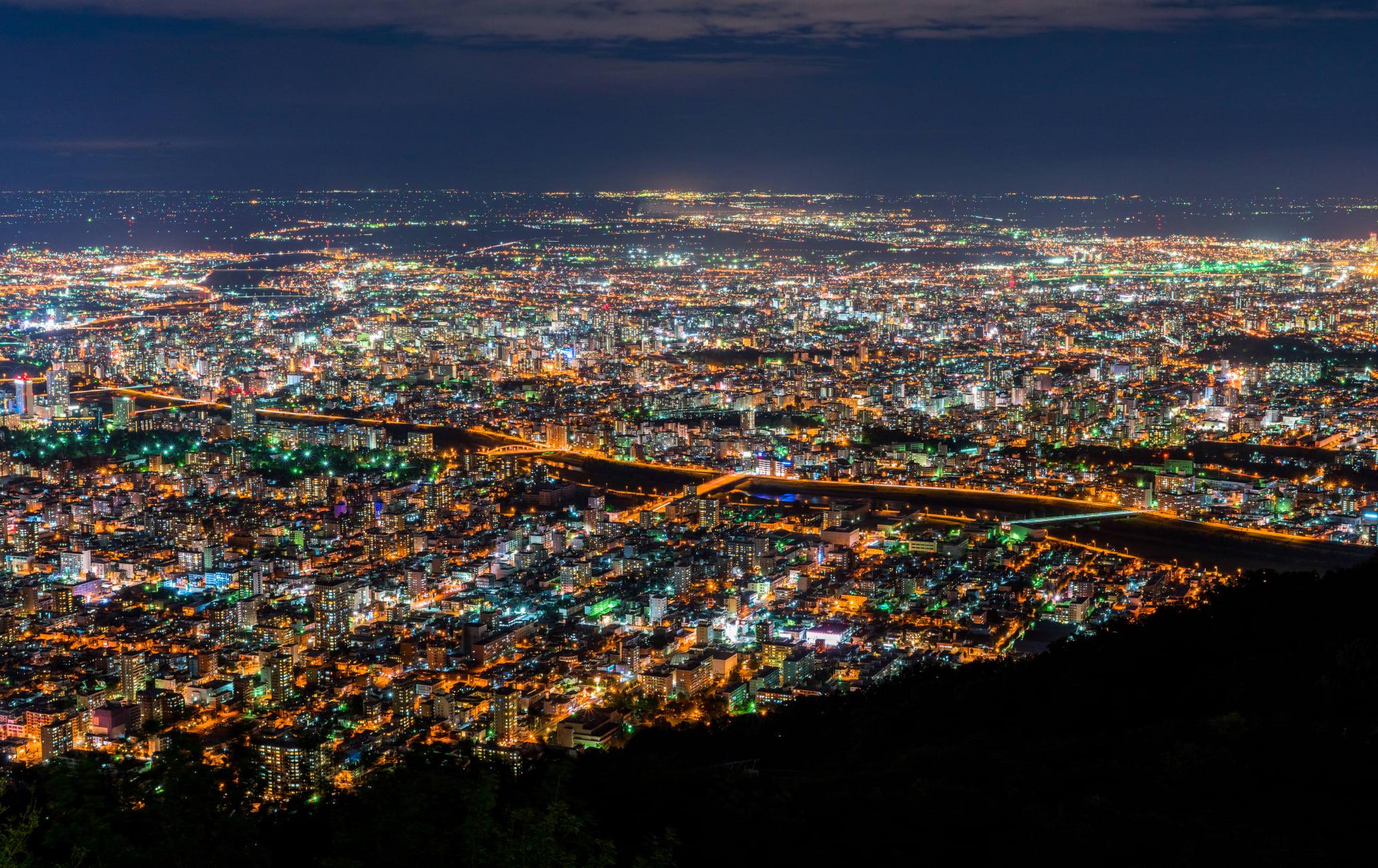 Night views from Mount Hakodate