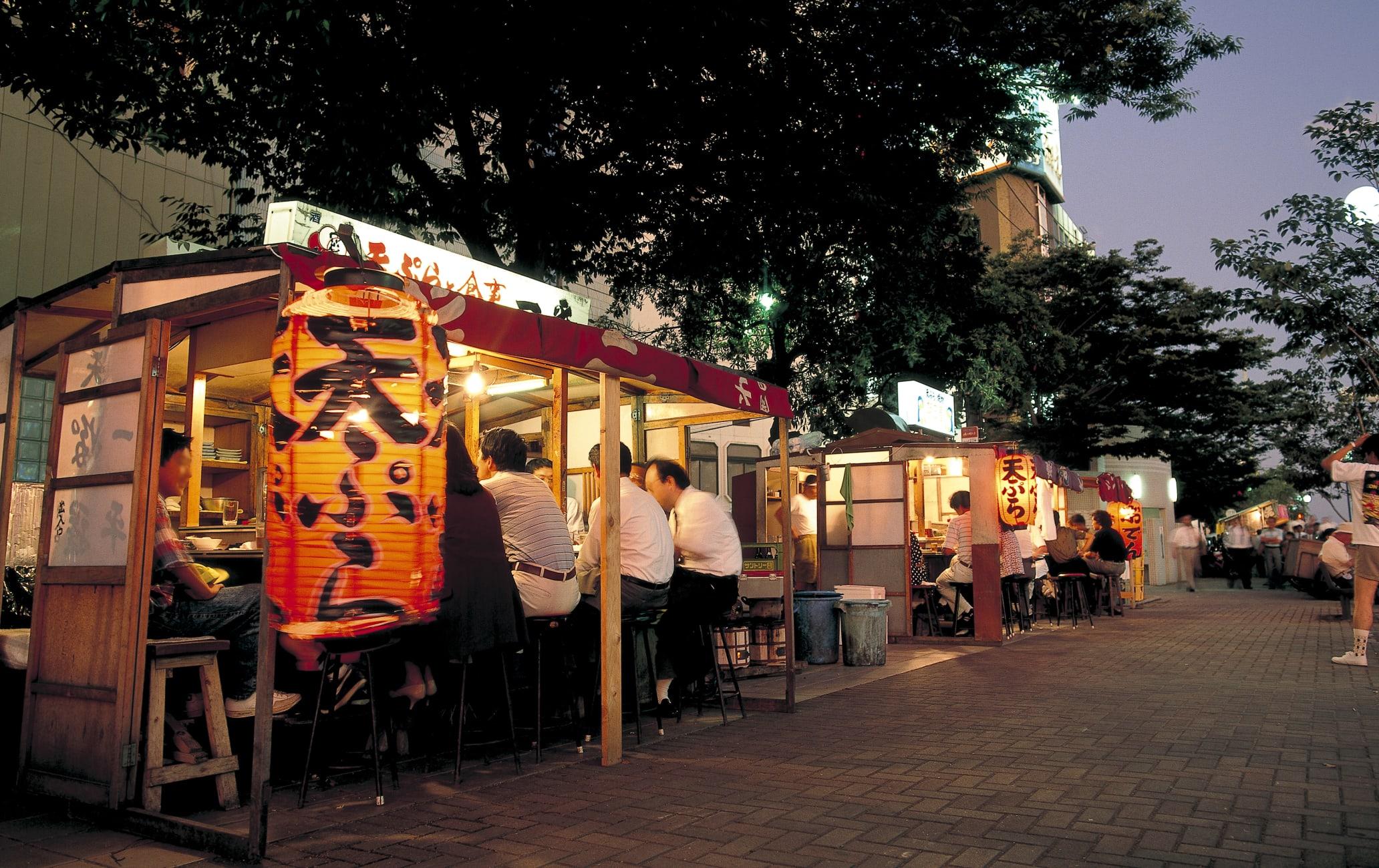 Yatai Food Stalls