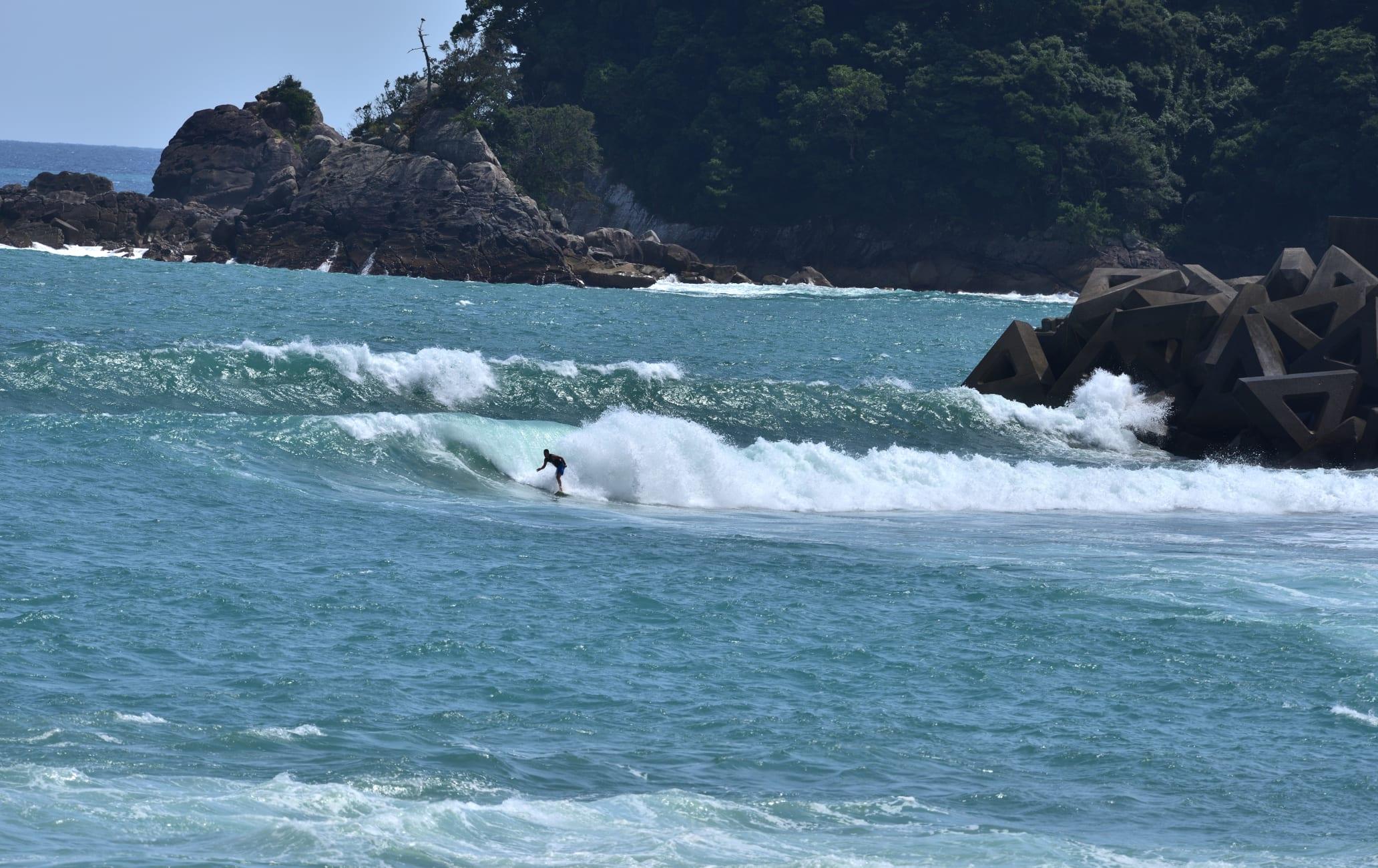 Surf at Kaifu Point