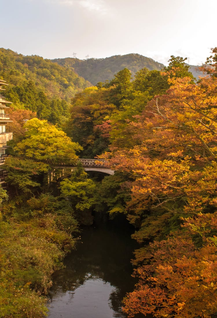 yamanaka-onsen hot spring