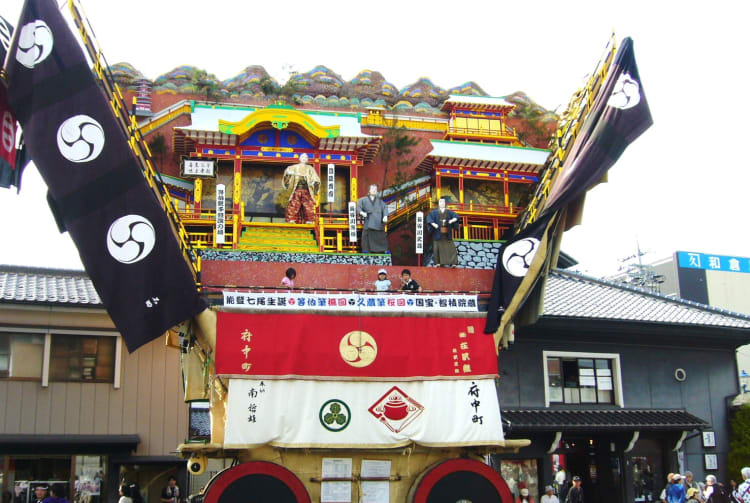 DEKAYAMA Giant Mountains The largest floats of Japan's festival
