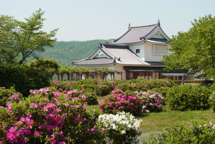 Tsuyama Castle -Kakuzan Park
