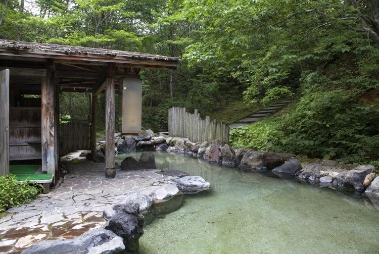 Senboku city Nyuto-onsen-kyo Hot Springs Village