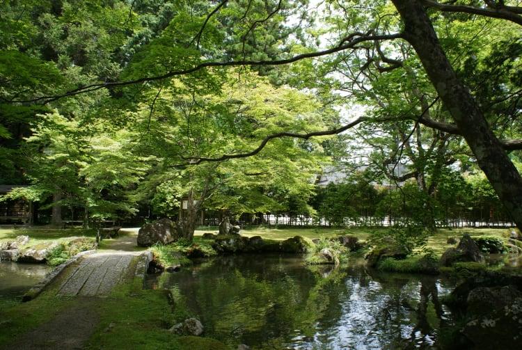 Garden of the Former Residence of Kitabatake Family