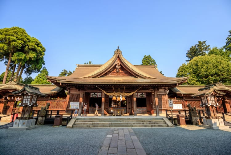 Aso-jinja Shrine