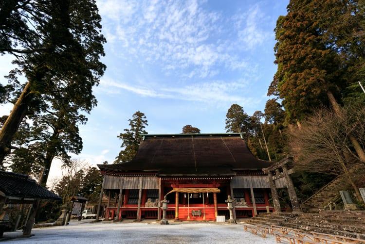 Hikosan-jingu Shrine