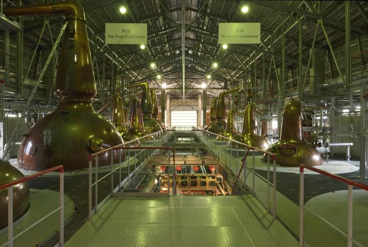 Suntory Hakushu Distillery