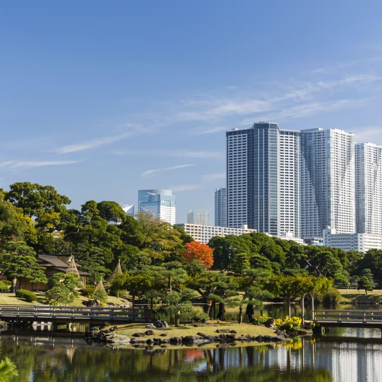 hama-rikyu onshi teien garden