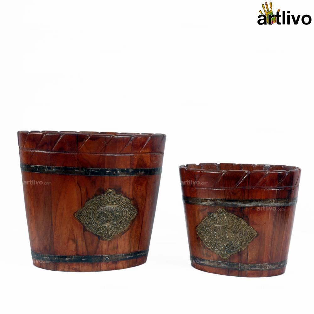 Regal Oval Bins, Set of 2