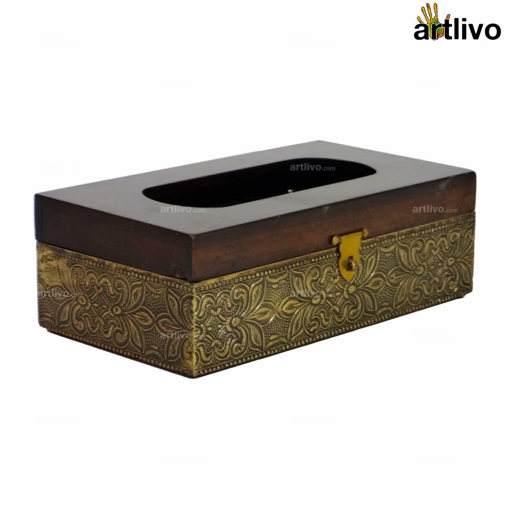 MERLOT Tissue Box