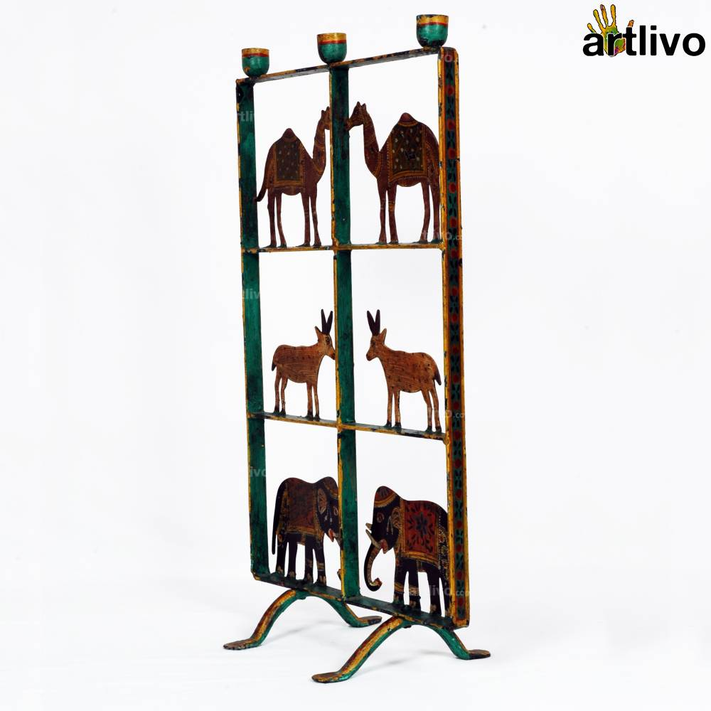 Animal Kingdom Taper Candle Stand