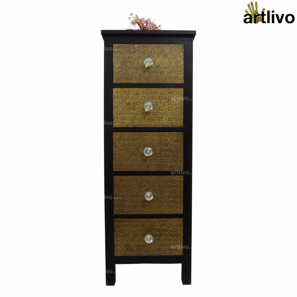 UBER ELEGANT Five Drawer Rack