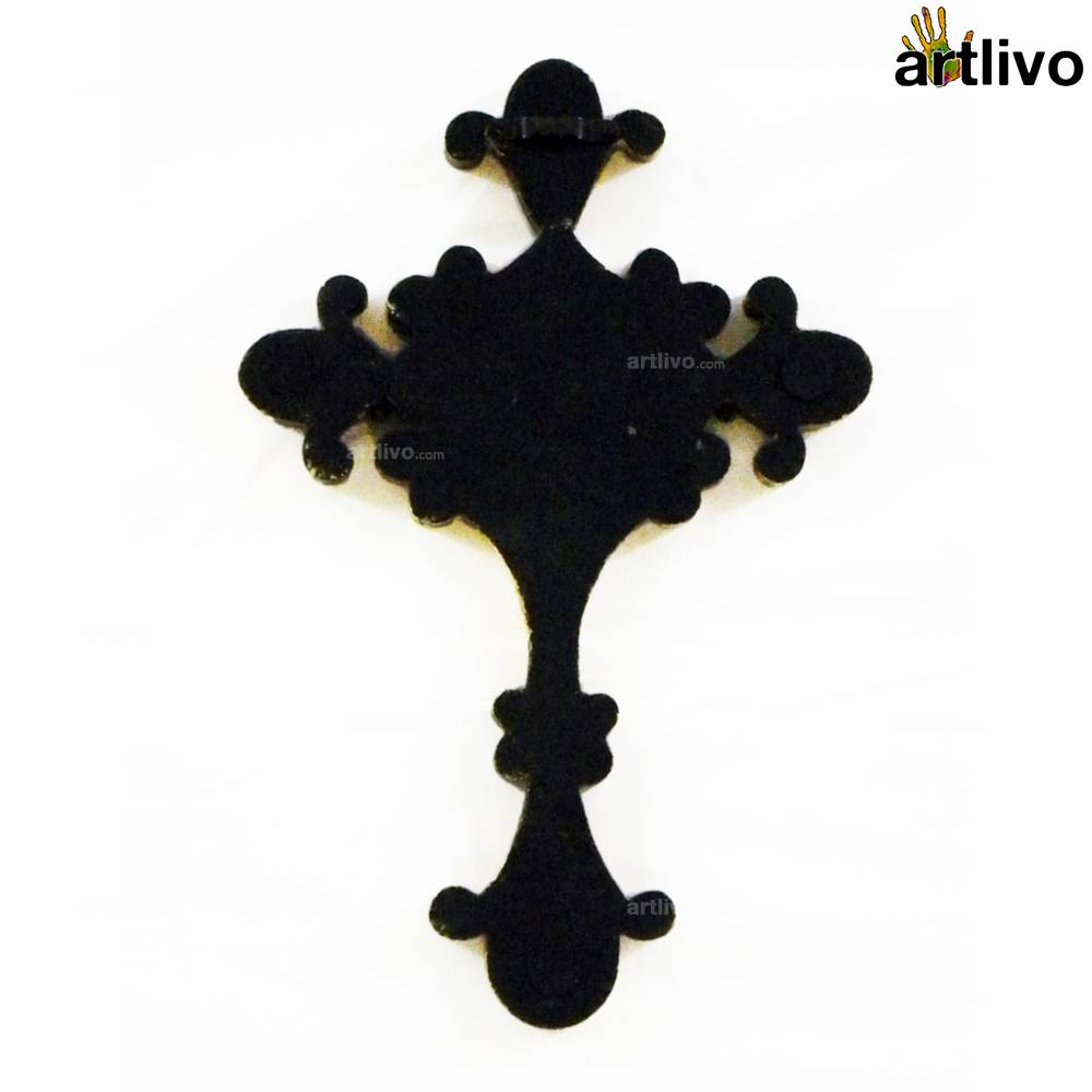 EMBOSSED Wall Hung Cross - WH013