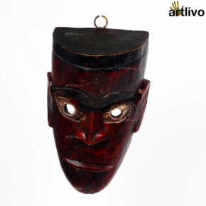 Wooden Tribal Mask - MA008