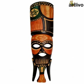 Wall Hanging African Tribal Mask