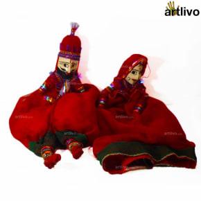 POPART Red Kathputli (Puppet)