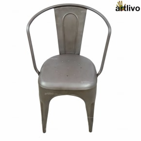 POPART French Grey Armchair