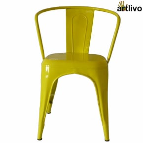 POPART French Yellow Arm Chair
