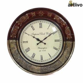 FUSION Dune Clock - Magenta