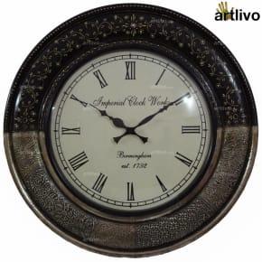 FUSION Dune Clock - Black