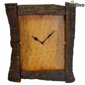 ECOLOG Rustic Wood Wall Clock - WC054
