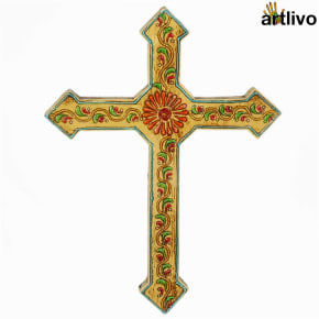 EMBOSSED Wall Hung Cross - WH016