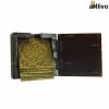 UBER ELEGANT Square Coaster Set with holder box- 6 coasters - TR022