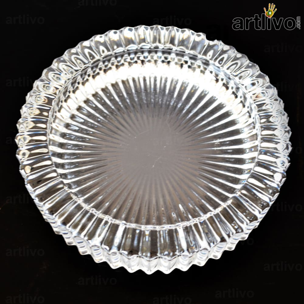 Round ashtray - Glass