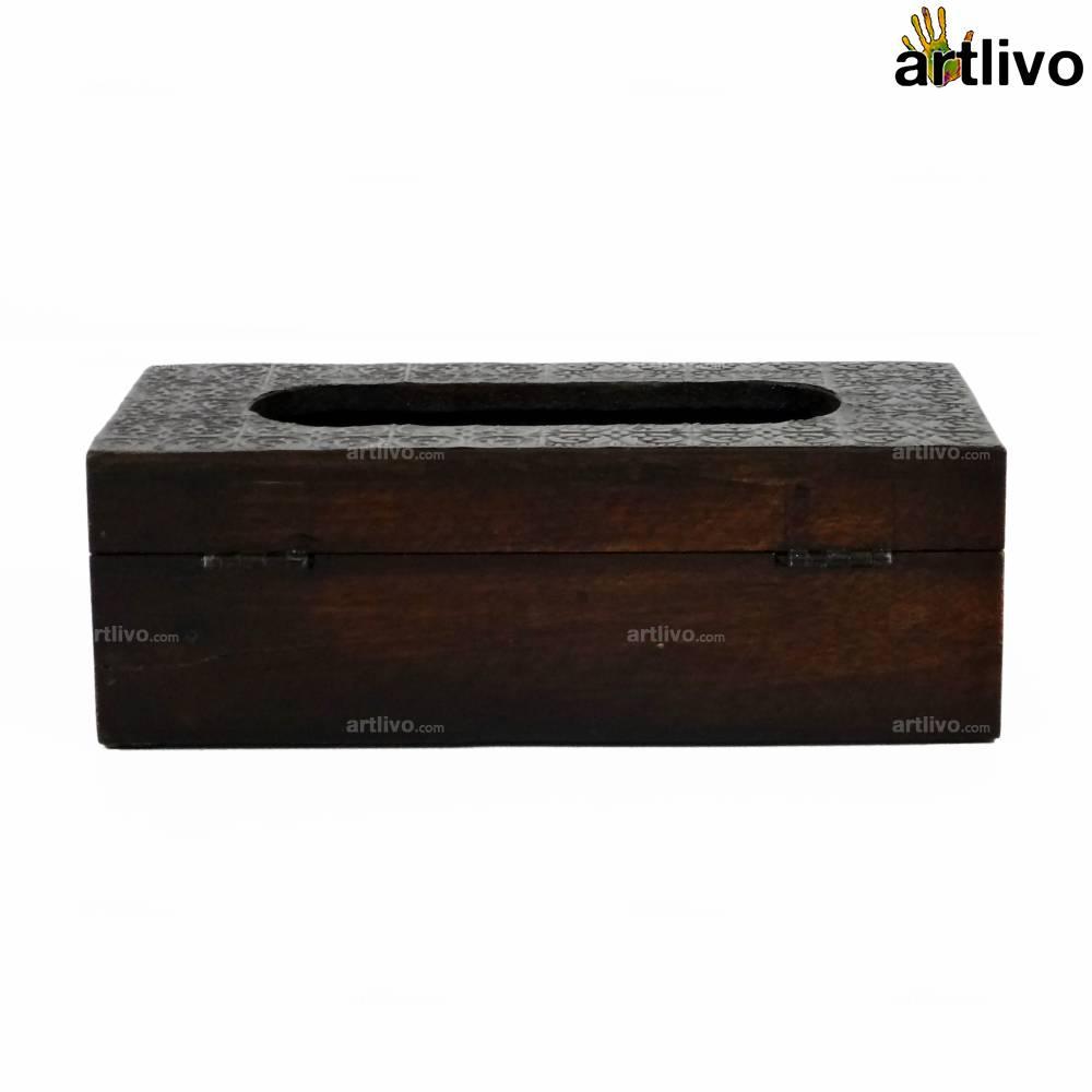 Metal Vine Tissue Box