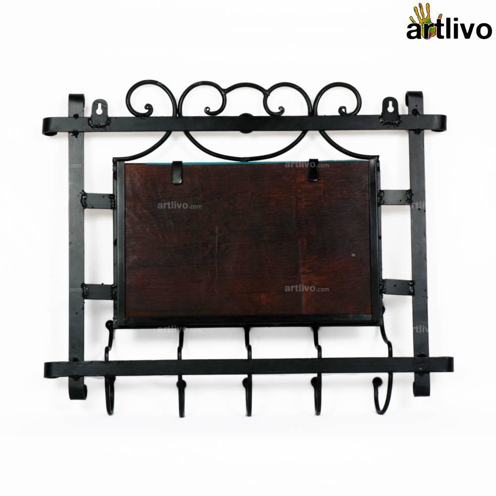 Powder Coated Wrought Iron Mirror Frame Mr008 Artlivo Com