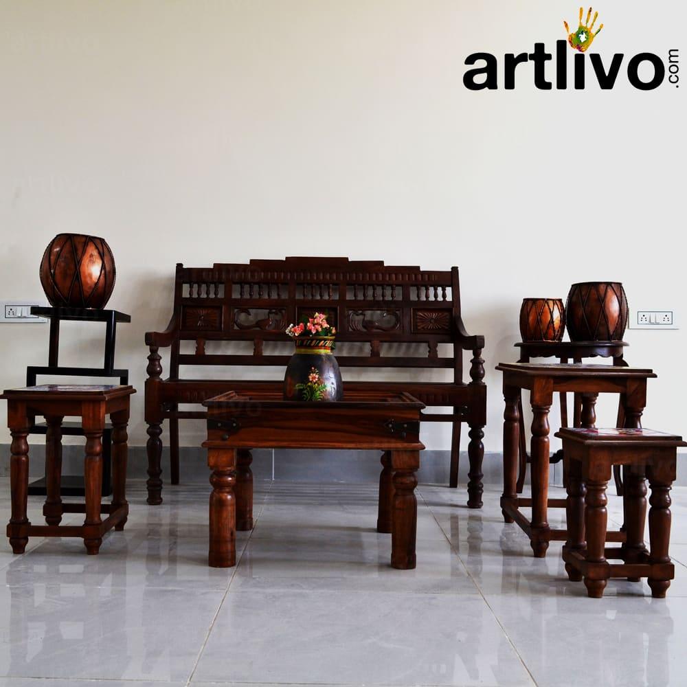 Tilo Nested Tables; Set Of 3
