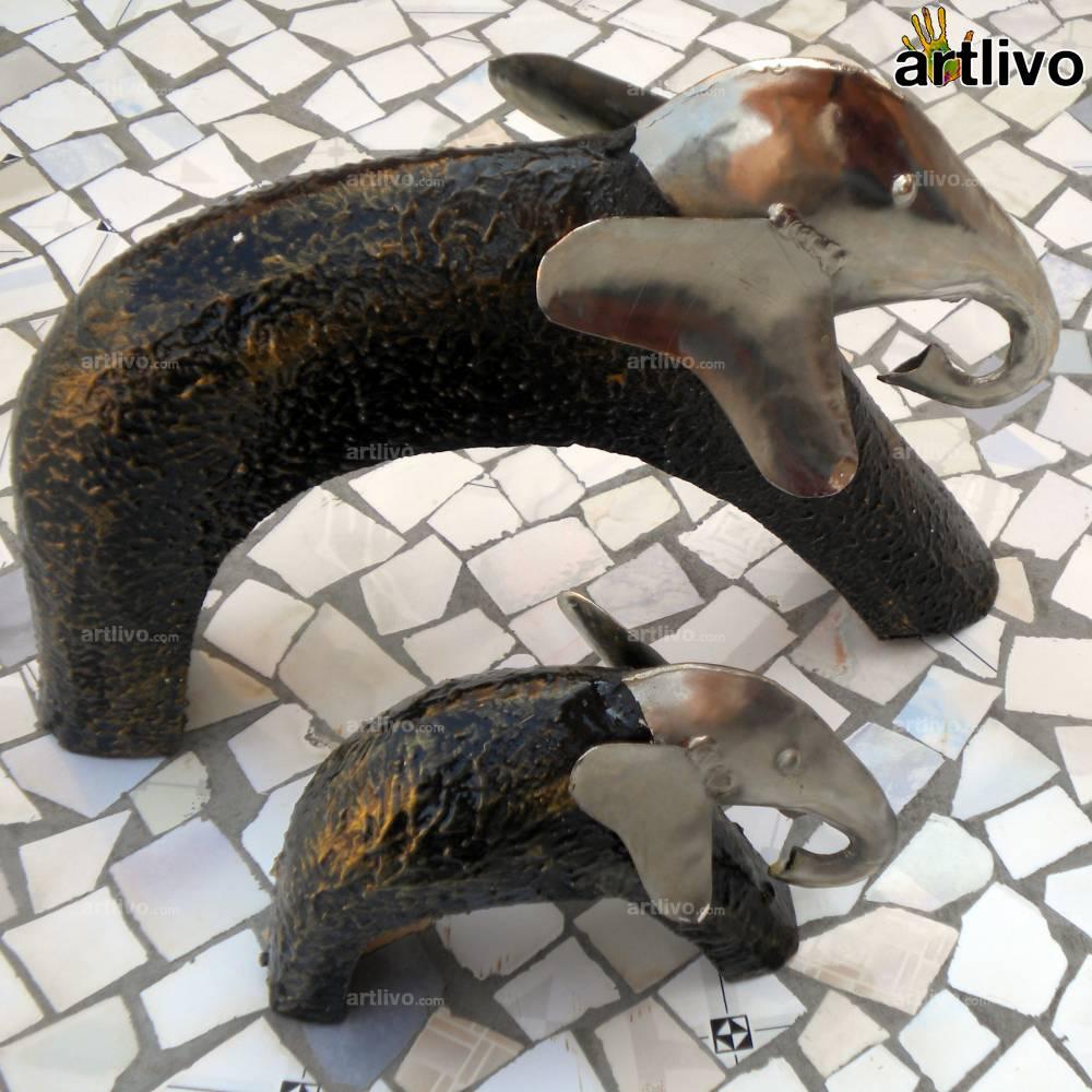 FUSION Parent & Child Elephants