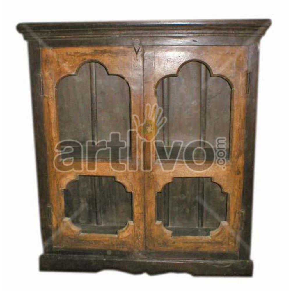 Antique Indian Beautiful Rich Solid Wooden Teak Almirah