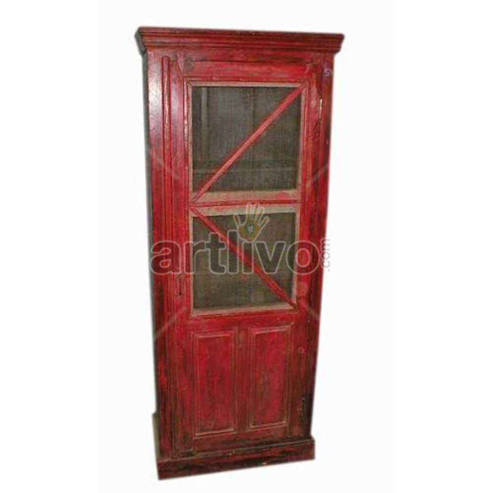 Antique Indian Beautiful Luscious Solid Wooden Teak Almirah
