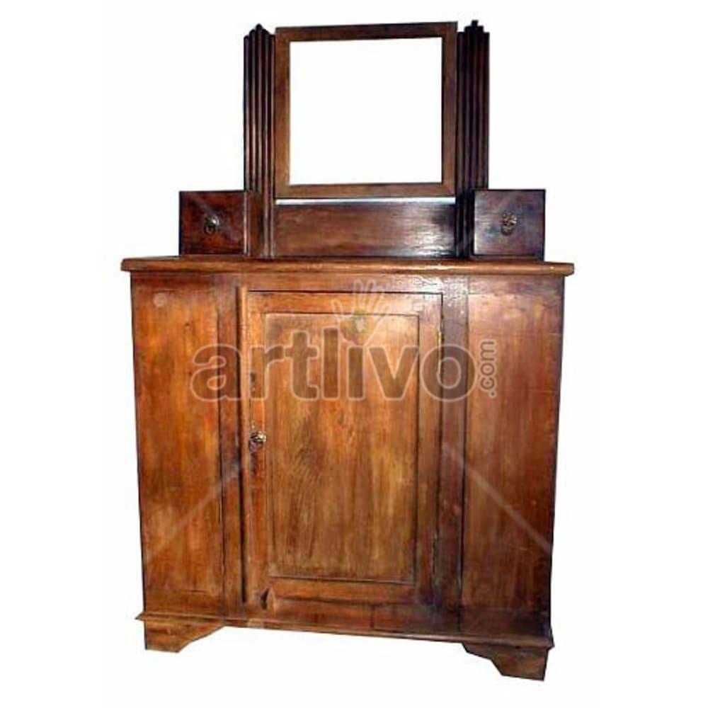 Old Indian Beautiful aristocratic Solid Wooden Teak Almirah