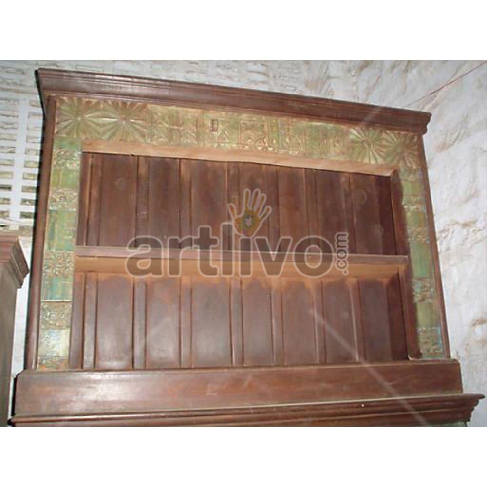 Vintage Indian Beautiful Lavish Solid Wooden Teak Sideboard