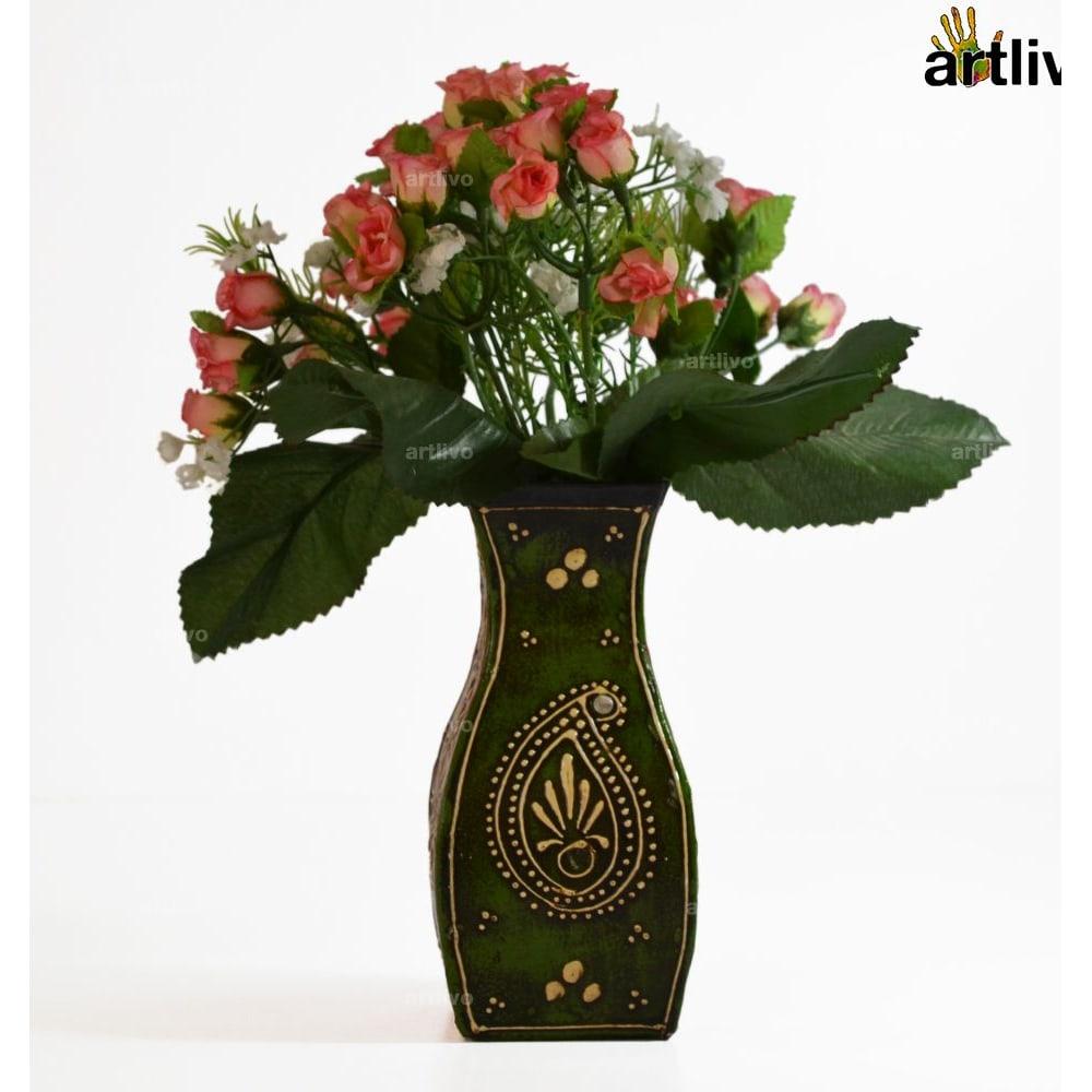 EMBOSSED Falcon Flower Vase