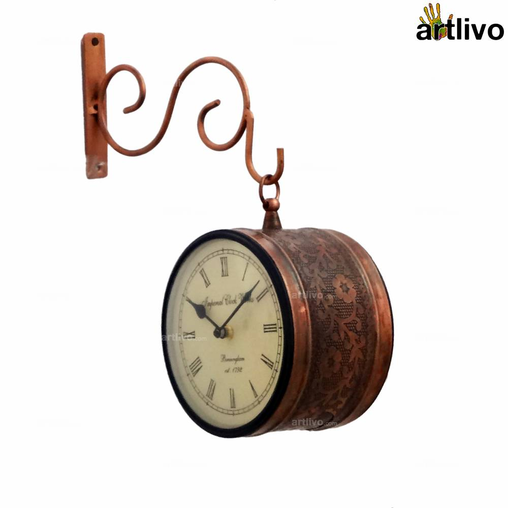 BLING Platform Clock - Copper