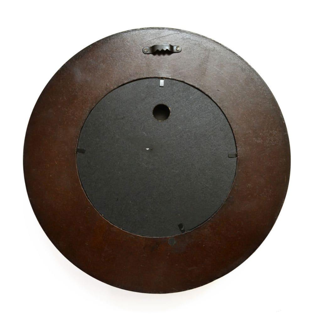 "MAPLE Ripple Round Wall Clock 12"""