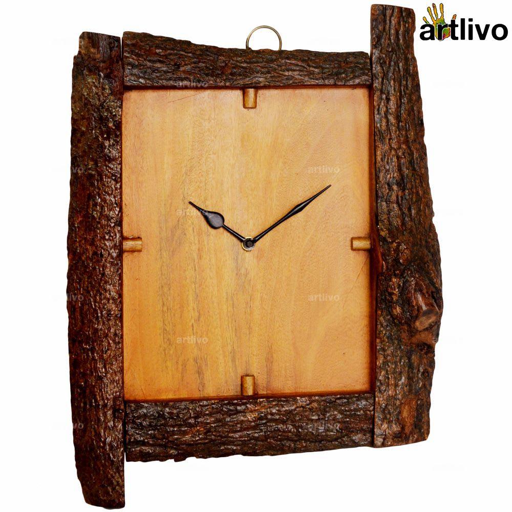 ECOLOG Natural Wooden Wall Clock