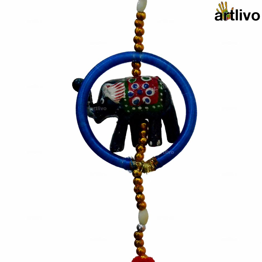 POPART Umbrella-Bangle-elephant Wall Hanging - Set of 2