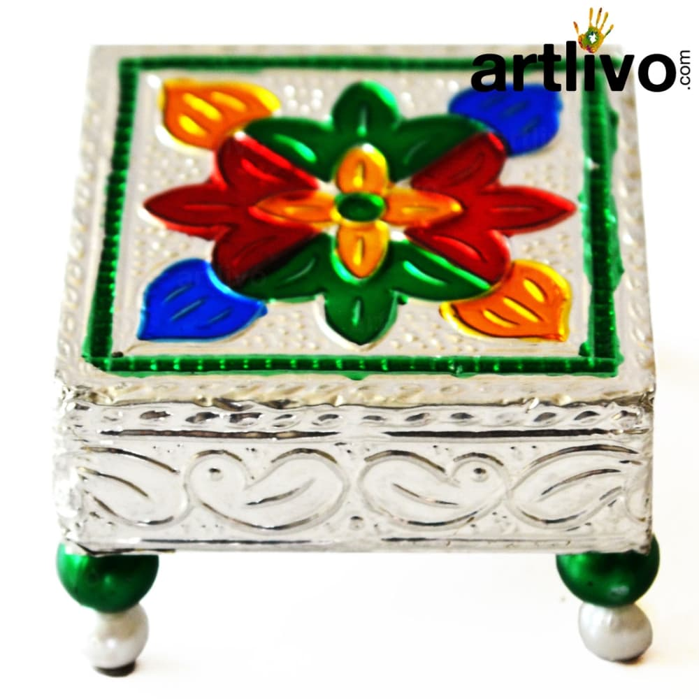 Small Pooja Chowki - PO006