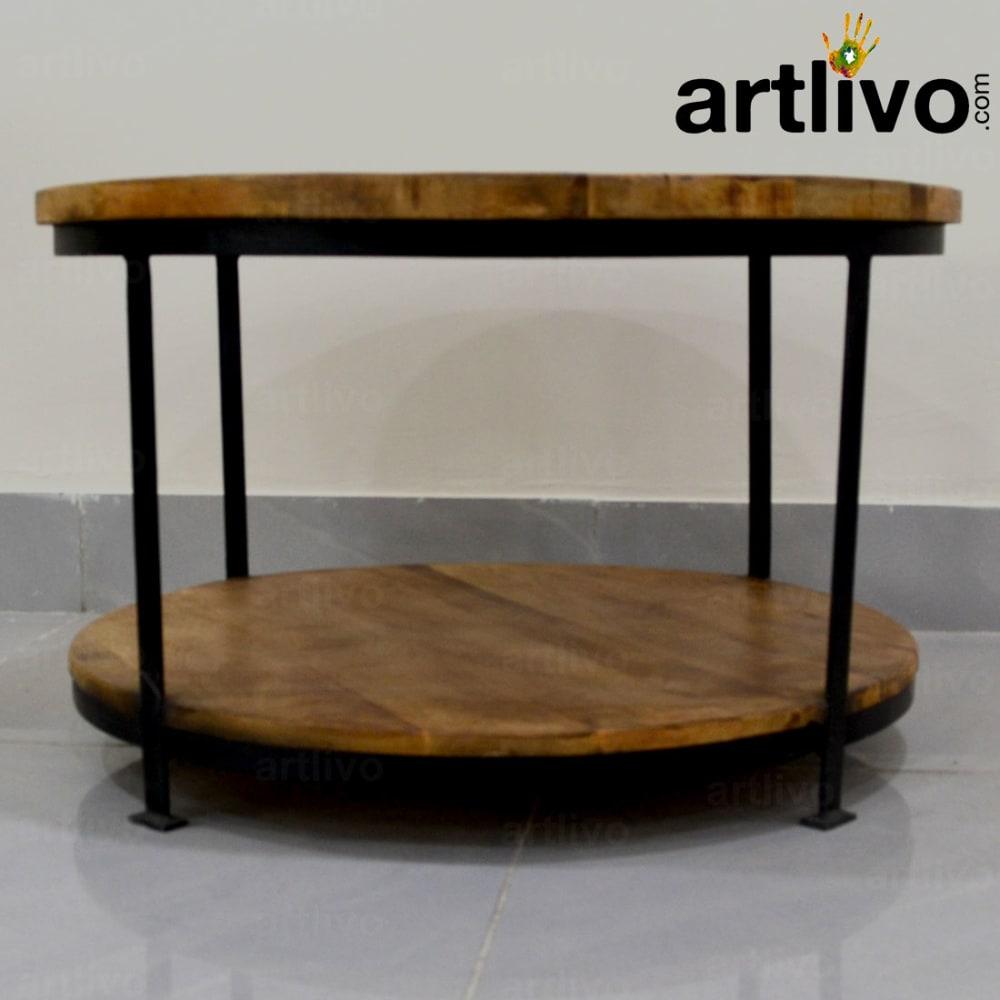 Industrial 4 Leg Coffee Table- Large