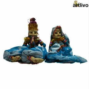 POPART Blue Kathputli Puppet Set