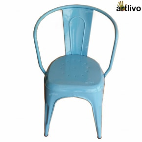 POPART French Blue Arm Chair