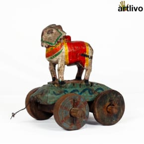 VINTAGE Nandi Bull Cart - ST022