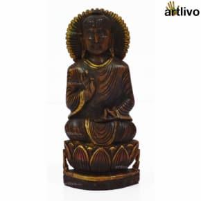 POPART Wooden Buddha Black