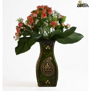 EMBOSSED Falcon Flower Vase