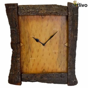 ECOLOG Rustic Wood Wall Clock - WC054