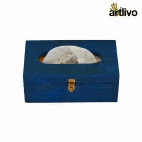 POPART Sapphire Tissue Box